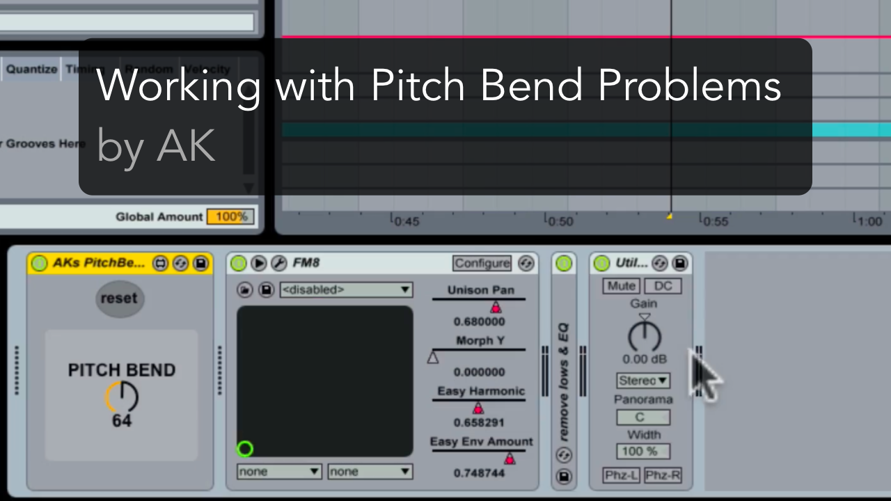 pitch-bend-problems