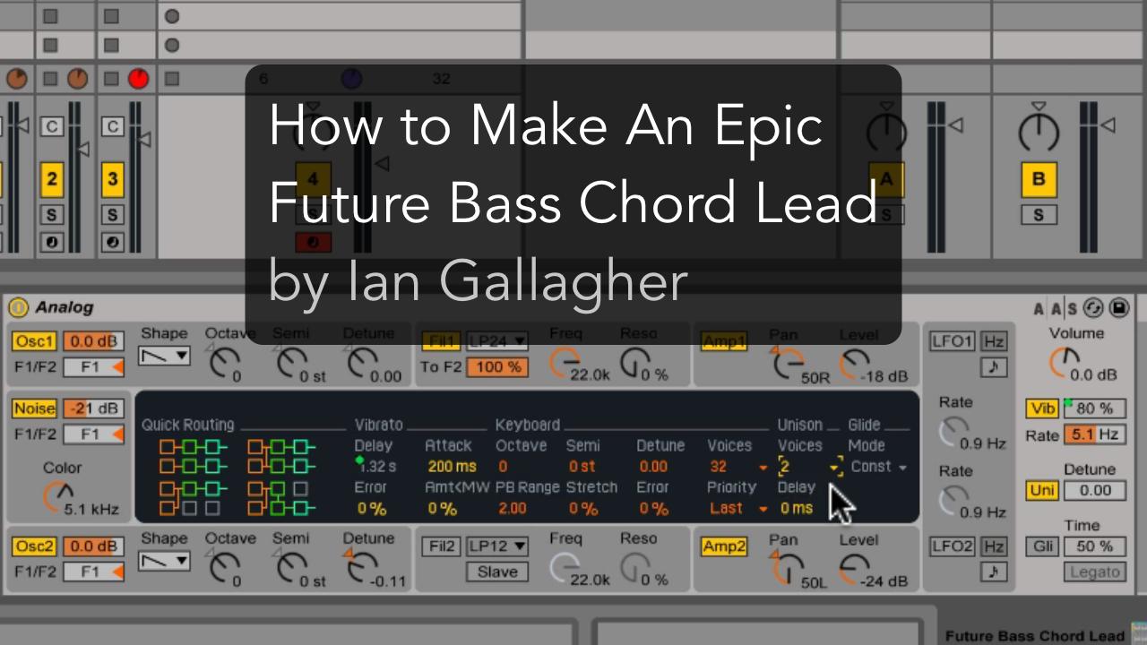 future bass chord lead