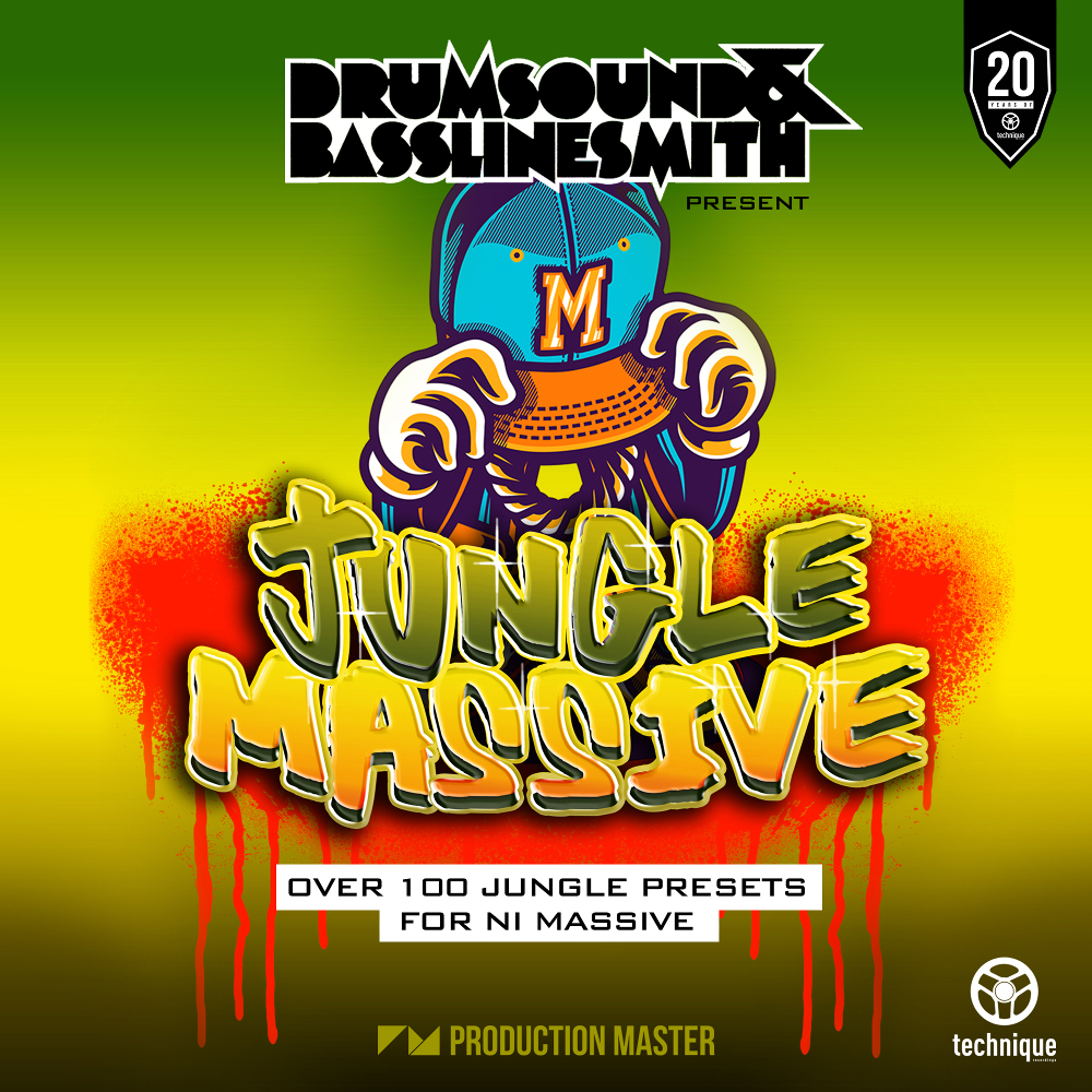 Production Master | Drumsound & Bassline Smith presents Jungle Massive