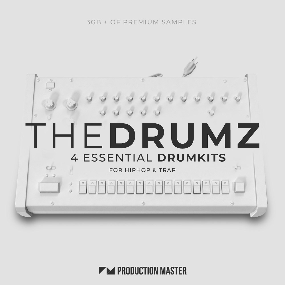 Production Master | The Drumz - Essential Drumkits for Hip-Hop & Trap